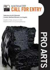 Juried Annual 09 Call For Entries,