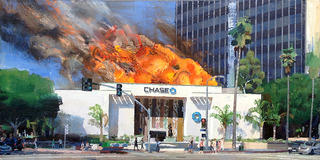 Chase Burning, Sunset and Vine, Alex Schaefer