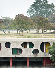 Legislative Assembly (back entrance), 2010, Architect: Le Corbusier, 1962, Manuel Bougot