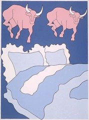 Bulls and Bed  , John Wesley