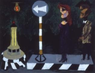 Bus Stop, Albert Tucker