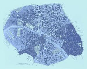 After the 'New Relief Map of Paris... - Paris: Bauerkeller' , Bertille Bak