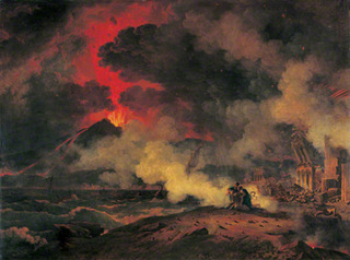 The Eruption of Vesuvius, Pierre Henri de Valenciennes