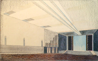 Design for Modern Movie Theater (A), Alfonso Iannelli