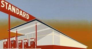 Standard Station, Ed Ruscha