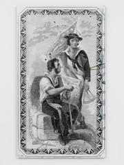 Allegorical Figures (New York and Harlem Rail Road Company), William E. Jones