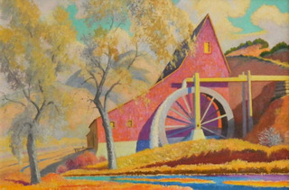 Pojoaque Mill - Autumn,Albert Schmidt
