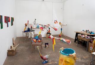 Installation View, Alessandro Pessoli