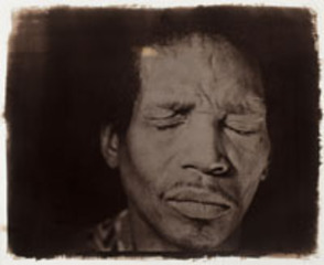 Jonathan with Eyes Closed, Rashid Johnson