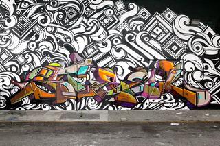 Mural in San Francisco, Victor Reyes, STEEL