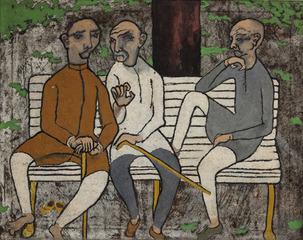 Untitled, J Swaminathan