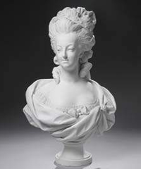 Bust of Marie-Antoinette. Commissioned by Prince Alexandre Kourakine,
