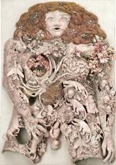 L accouchement rose, Niki de Saint Phalle