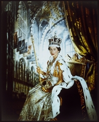 Queen Elizabeth II, Buckingham Palace, Cecil Beaton