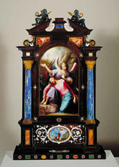 Portable Altar in a Carrying Case (Christ on the Mount of Olives), Jacopo Ligozzi