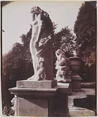 Statues, St. Cloud, Eugène Atget