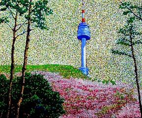 Spring in Seoul, JUCHUL KIM