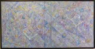 Faux Triptych Diptych, Stuart Bigley