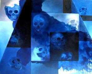 My Tribute in Blue to the Day of the Dead / Homenaje en Azul al Día de los Muertos, Angélica Gatica
