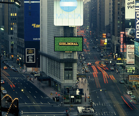 This Is Not an Advertisement Times Square, New York, Antoni Muntadas