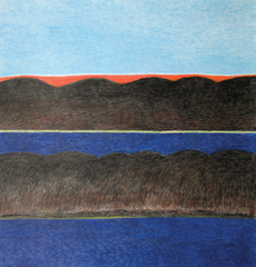 Composition (Landscape with Island), Ohotaq Mikkigak