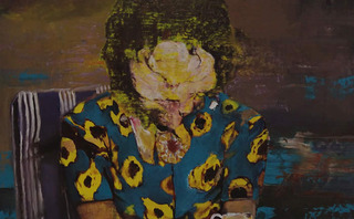 Pie Fight Study (detail), Adrian Ghenie