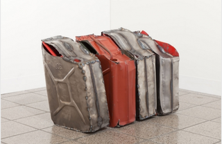 Untitled (Everted Jerry Cans 6, 7, 8, 9), Matias Faldbakken