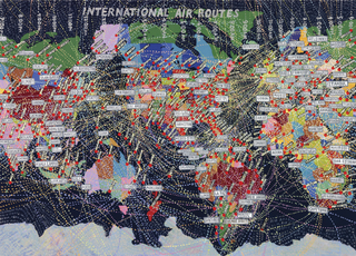 International Air Routes,Paula Scher