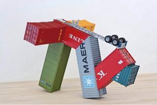Truck Container II, Kim Adams
