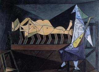 L\'Aubade, Pablo Picasso