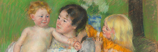 After the Bath (detail), Mary Cassatt