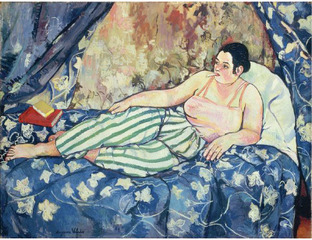 The Blue Room (La chambre bleue) , Suzanne Valadon