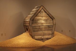 Overflow, Kansas Union Gallery Installation, Darin White