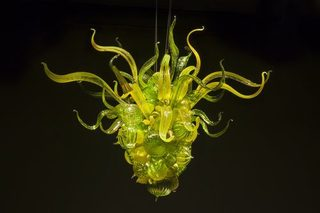 Verdant Green Chandelier, Dale Chihuly