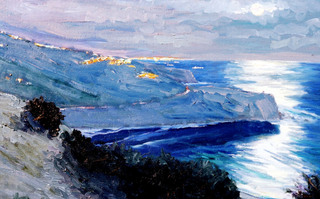 Path to the Moon – Palos Verdes, Donald Crocker