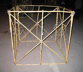 Bamboo Cube (reference image), Eamon Ore-Giron