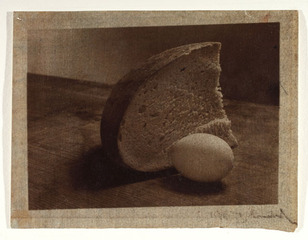Bread and Egg,Josef Sudek