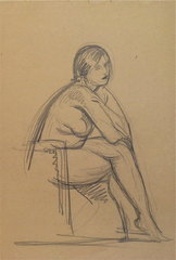Nude/Chair, Alfonso Iannelli