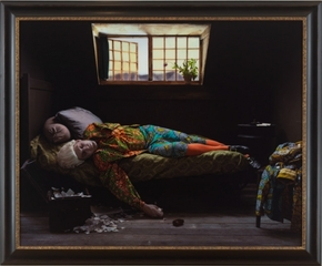 Fake Death Picture (The Death of Chatterton - Henry Wallis),Yinka Shonibare, MBE