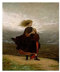 The Girl I Left Behind Me,Eastman Johnson