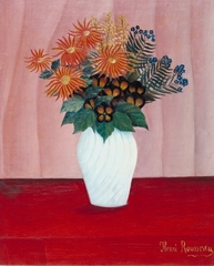 Bouquet of Flowers ,Henri Rousseau
