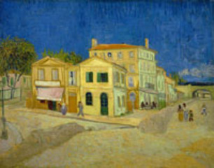 The Yellow House (the street), Vincent Van Gogh