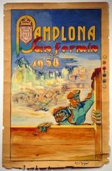 Pamplona 1958, Juan Gallego Pinazo