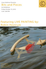 Live Painting Demonstration information, Robin Hextrum