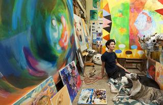 Studio shot M.A. Peers by Grant Mudford, M.A. Peers