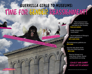 Gender Reassignment, Guerrilla Girls