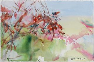 Untitled (La Cavalerie), Zao Wou-Ki