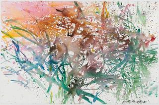 Untitled (Paris, October), Zao Wou-Ki