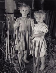 Girls in Onion Patch, Shelby Lee Adams