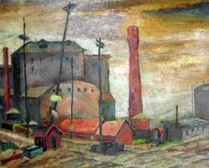 South Chicago (City Landscape), Todros Geller
